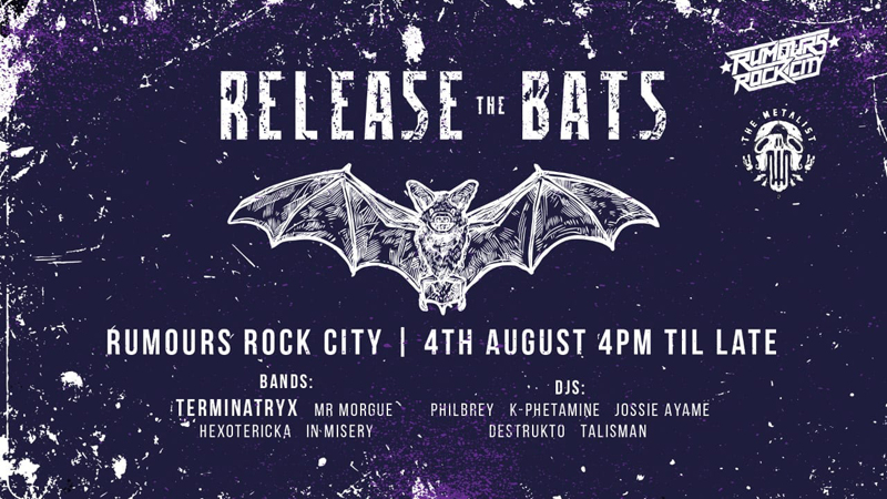 Terminatryx Release The Bats